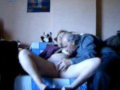 Fingering my old wife. Amateur older