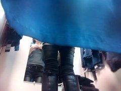 anorexic voyeur dressing room