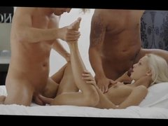 Threesome with Hot Blonde