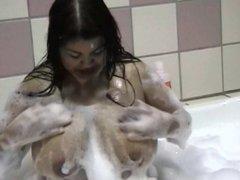 Chubby Asian Bath
