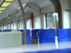 Fucking in Train