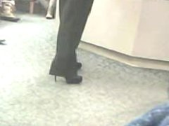 High Heels - Milf In Stilletos Candid