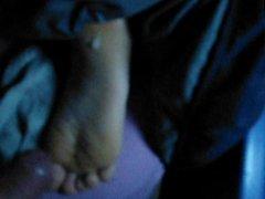 jizzing hard soles