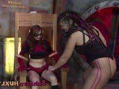Huxly Slams Red Star - Saharra Huxly, Kendra James