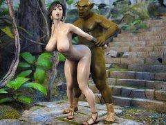 Secret of Beauty Stone Lady 3D