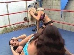 2 on 1 Wrestling