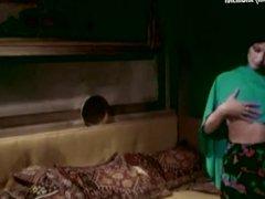 Gloria Guida Femi Benussi nude scene from La Novizia