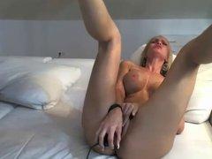 Hot Brunette Dildo Orgasm #2