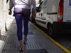 Ass on the street