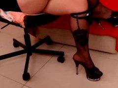 Panties, Heels & Feet tease