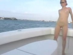 Amateur - Hot Redhead Boat Big Squirt
