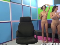 ImmoralLive MILF teachin PARTY GIRLS to SQUIRT!