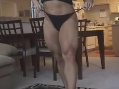 Sexy FBB Heather Armbrust Glutes Legs