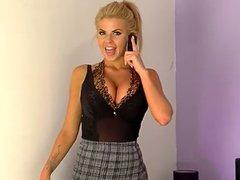 Hannah Elizabeth Tease Show 05-03-2015