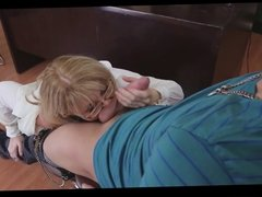 mature teacher nina fuck with lucky young guy