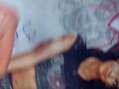 WWE AJ Lee Cum Tribute #6