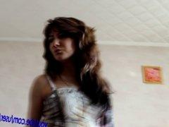Dancing Girl in Pantyhose
