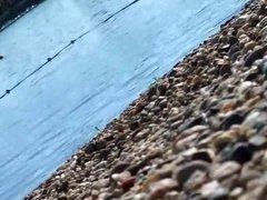 SERBIAN GIRL ON BEACH