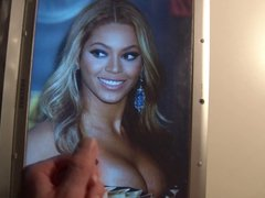 Beyonce Cum Tribute
