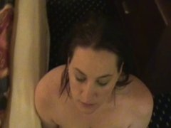 Submissive D second visit facial and cum swallow