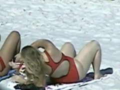Spying Mature Big Butt - Beach Ass Voyeur - Candid Booty