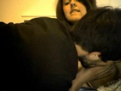 Amateur Couple Fuck in the Bed