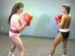 Big Boob Wrestling and Boxing