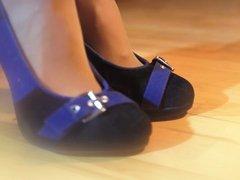 Liza in heels