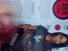 WWE AJ Lee Cum Tribute #9