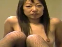 Asian woman in public