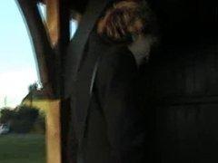 UK Sara, at the bus stop