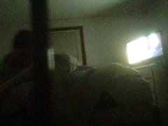 REAL Hidden Cam! Young Blonde Kasey changing before bed