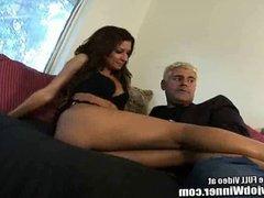 Latina Ann Marie Rios Sucking Off Fan!