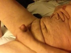 Artemus - Huge Nipples Strokes Cock For Cum