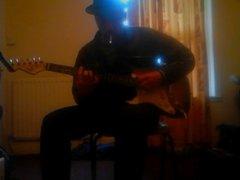 Chilling. x Guitar. practice. x