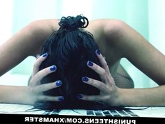 PunishTeens - Young Submissive Teen Gets Gaped and Gagged