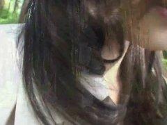 Subtitled Uncensored Japanese milf Mana Funaki in Forest HD