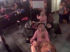Live stream from strip club dressing room