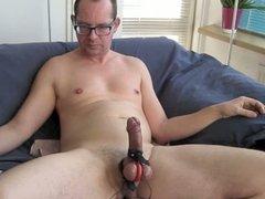 Sperm squirt after urethra blocker