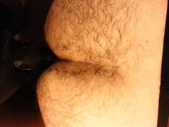 pegging,strapon session with my sub hairy arabian gay man 2