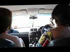 PAWG & Latina Sharing Cock