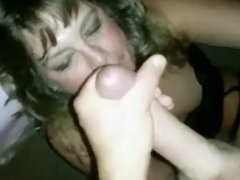 Amateur facial 24 in 2 views
