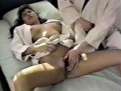 weird retro Japanese porn. busty karate lesson (bad audio)