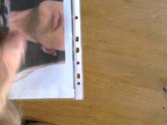 Facial cumshot tribute for beautiful woman luv2btkn