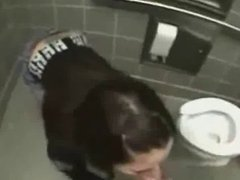 Amateur Fuck in Toilette