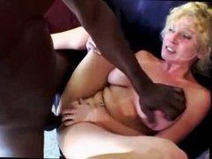 Mature Blonde Takes BBC