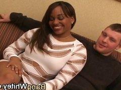 black girl loves 2 dicks in threesome