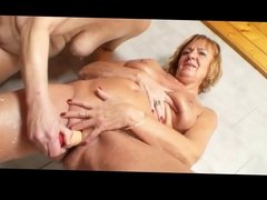 Mature Lesbians In Shower BVR