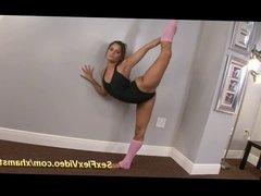 real flexible contortion gymnastic sex