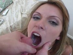 Smoking Fetish - Courtney Smoking & begging cum in her mouth
